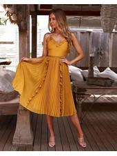 Maia Dress   Mustard