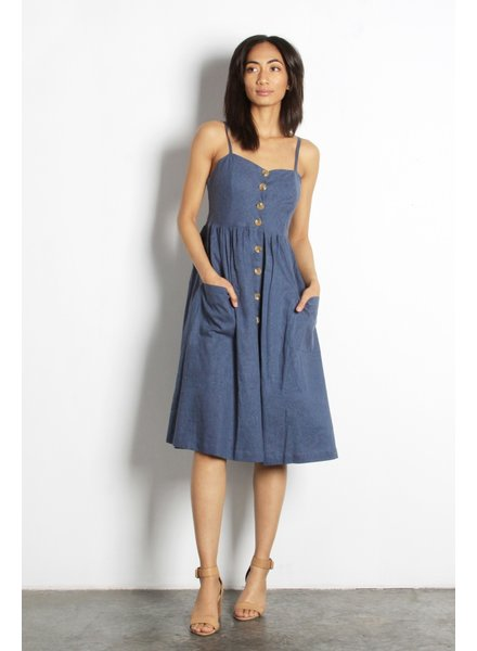 The Berit Dress | Blue