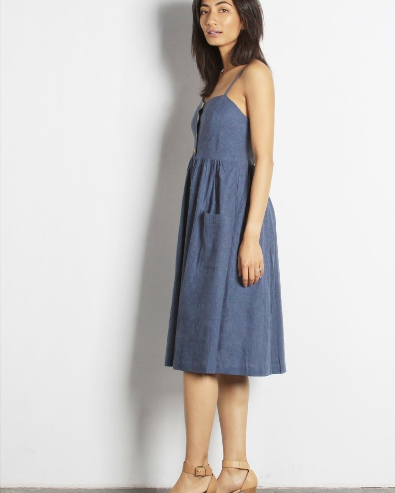 The Berit Dress | Blue