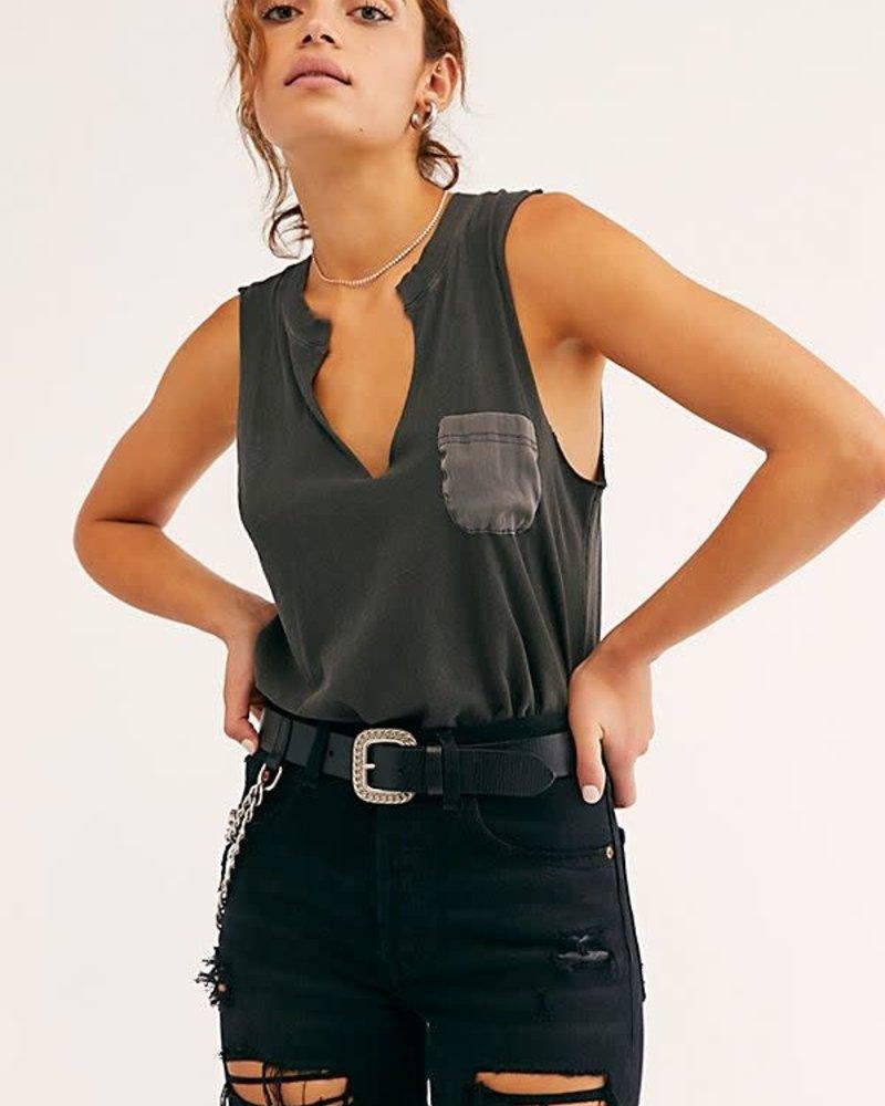 In Your Pocket Bodysuit   Black