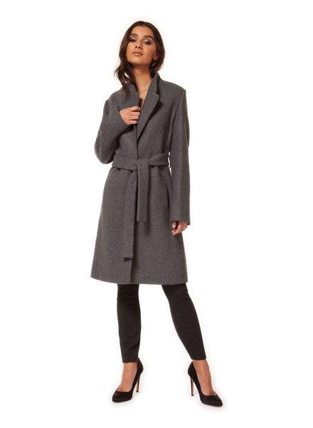 Self Belted Coat