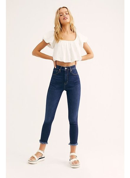 Free People Raw High-Rise Jegging | LAST ONE Size 27