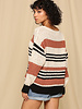 Boat Neck Stripe Sweater