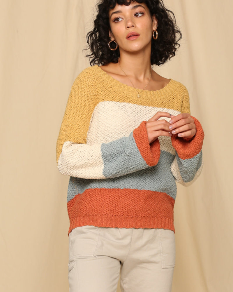 Katie Sweater | Clay