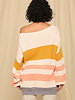 Ivory Multi Tunic Knit
