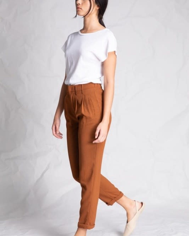 Copper Stripe Pant