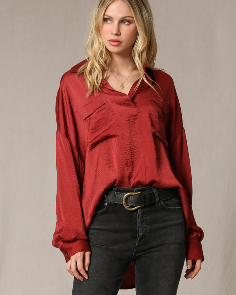 Willow Blouse | Red
