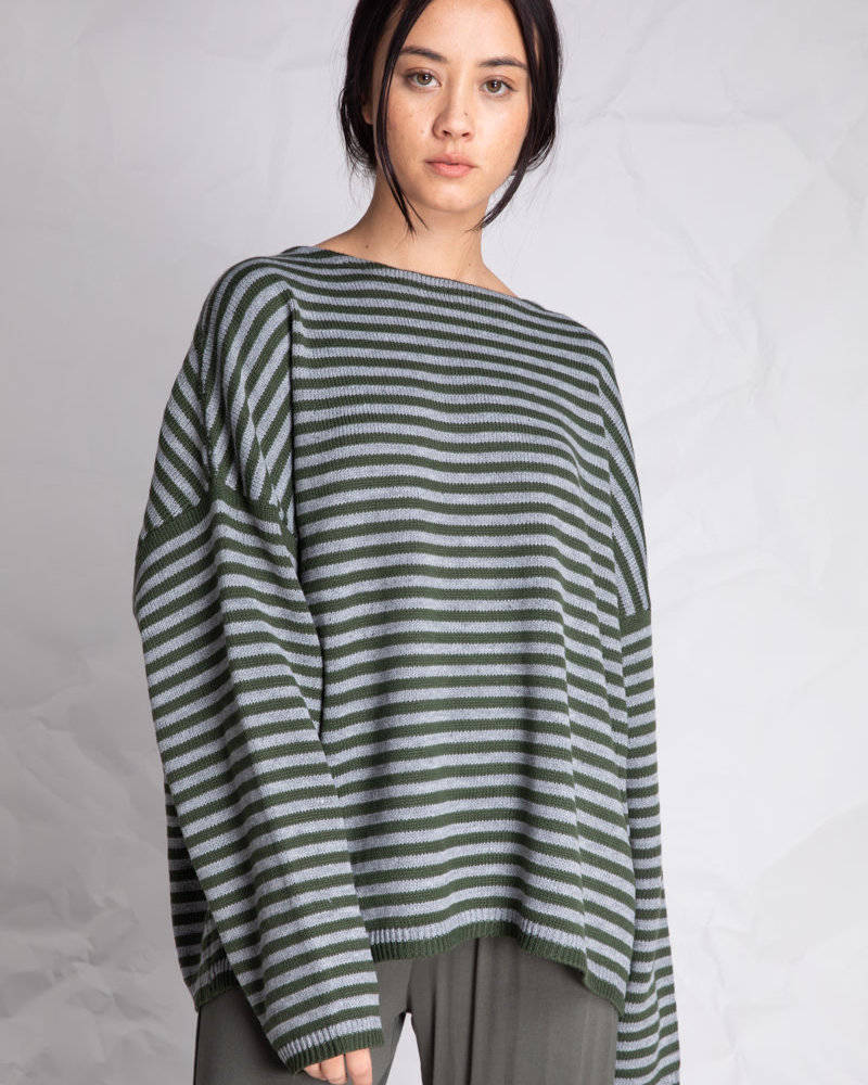 The Ivy Knit | Grey Pine
