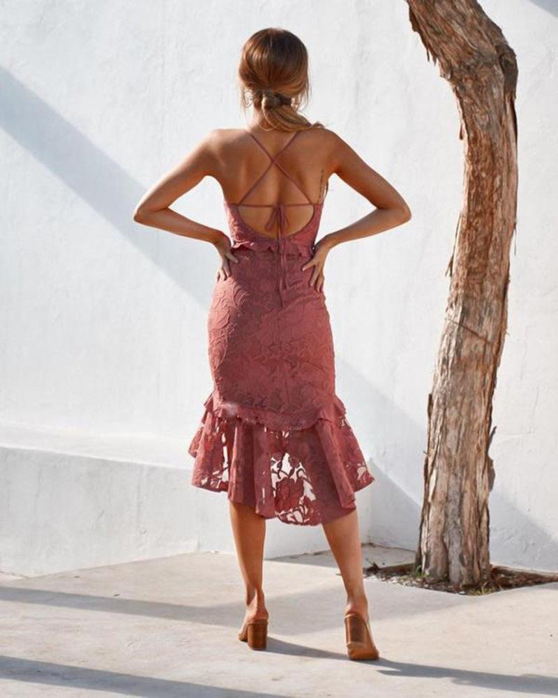 Abby Dress | Mauve