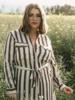 Sandy Stripe Dress/Kimono