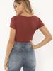 Simone Knit Bodysuit | Red