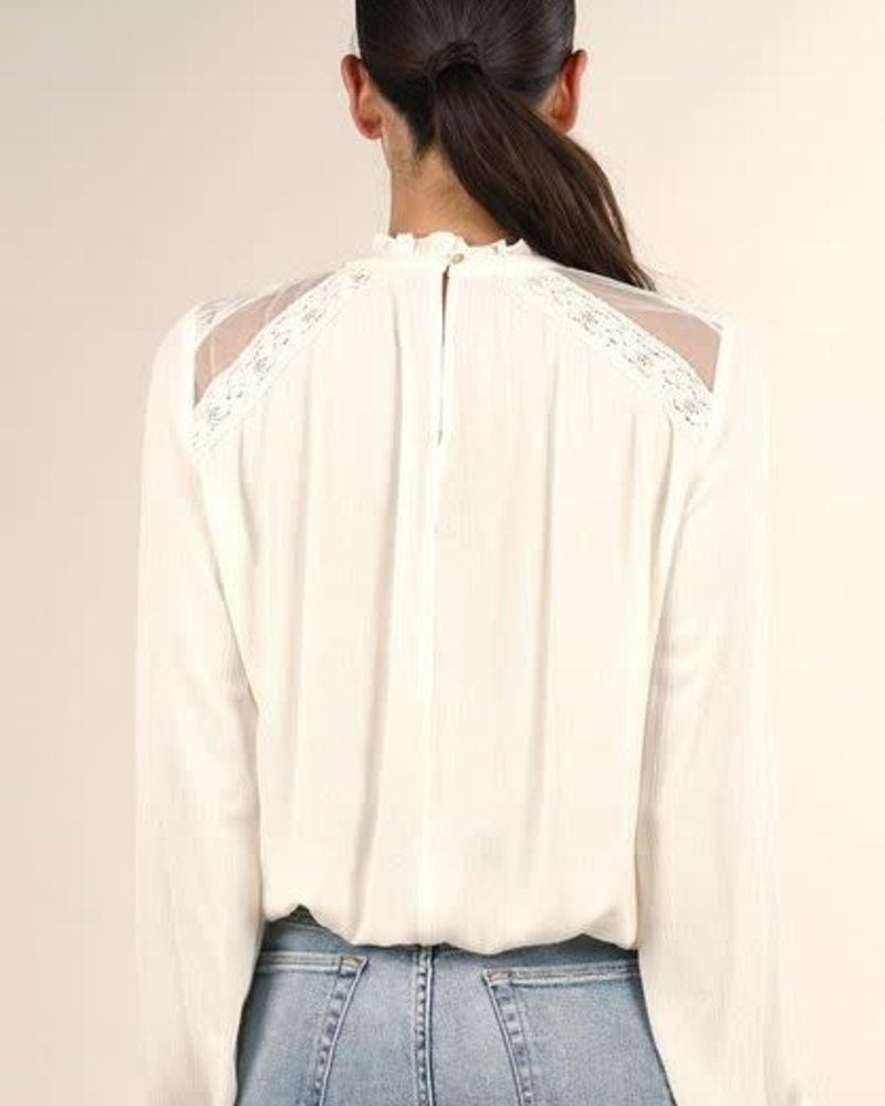 Lush Lace Blouse | Off White