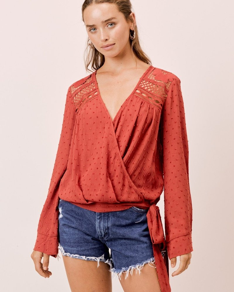 Spiced Long Bell Sleeve Top