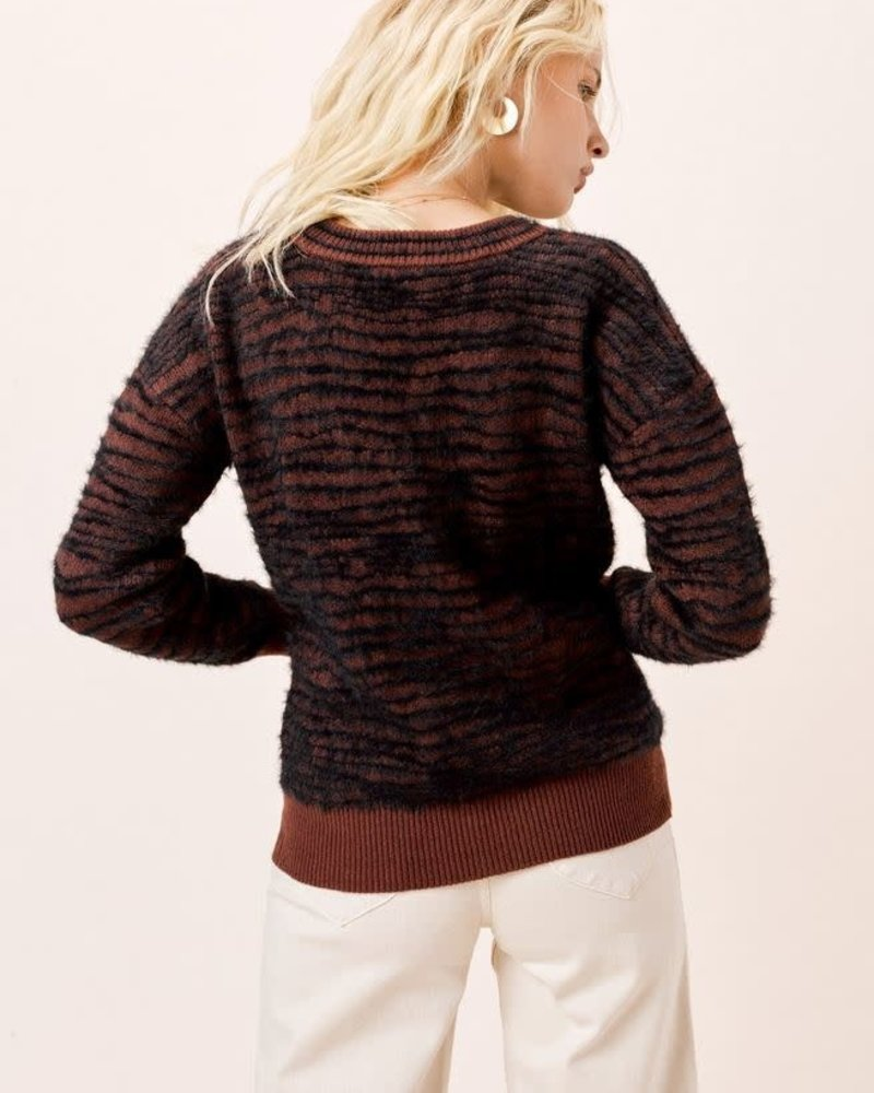 Rusty Zebra Sweater