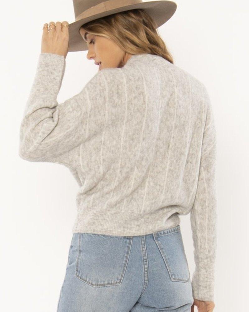 Aline Sweater   Grey