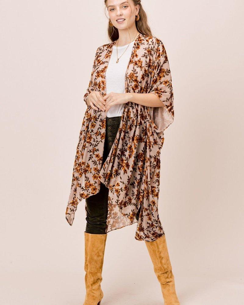 Autumn Velvet Kimono