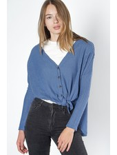 The Veronica Top | Blue