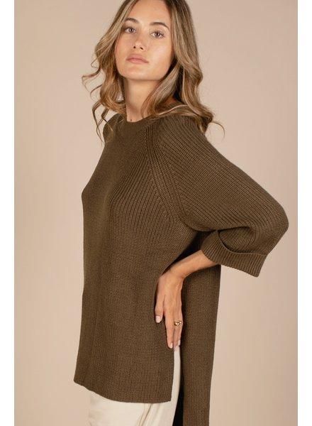 Karen Sweater | Olive