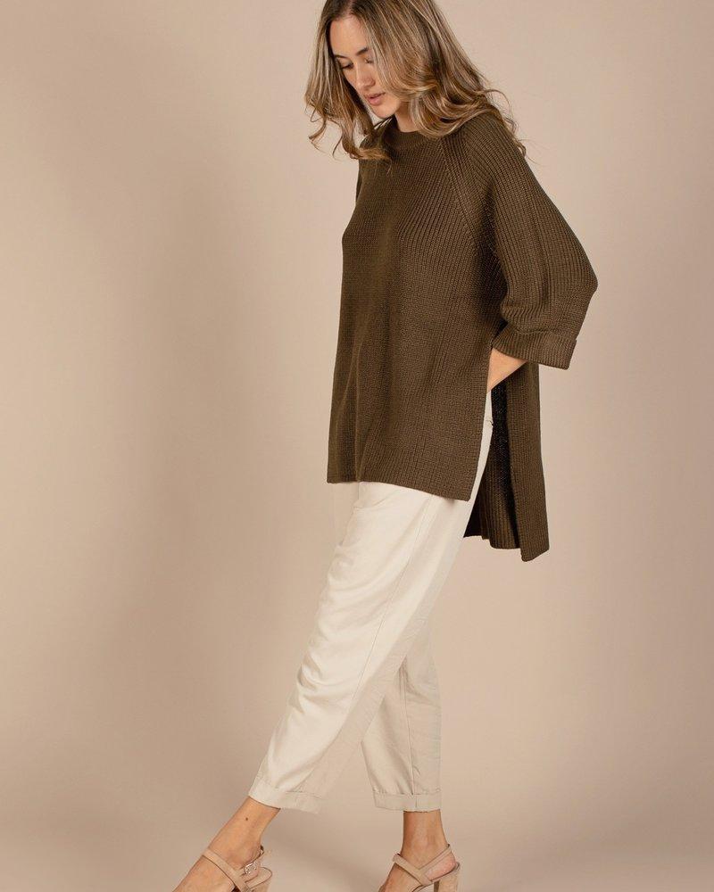 Karen Sweater   Olive