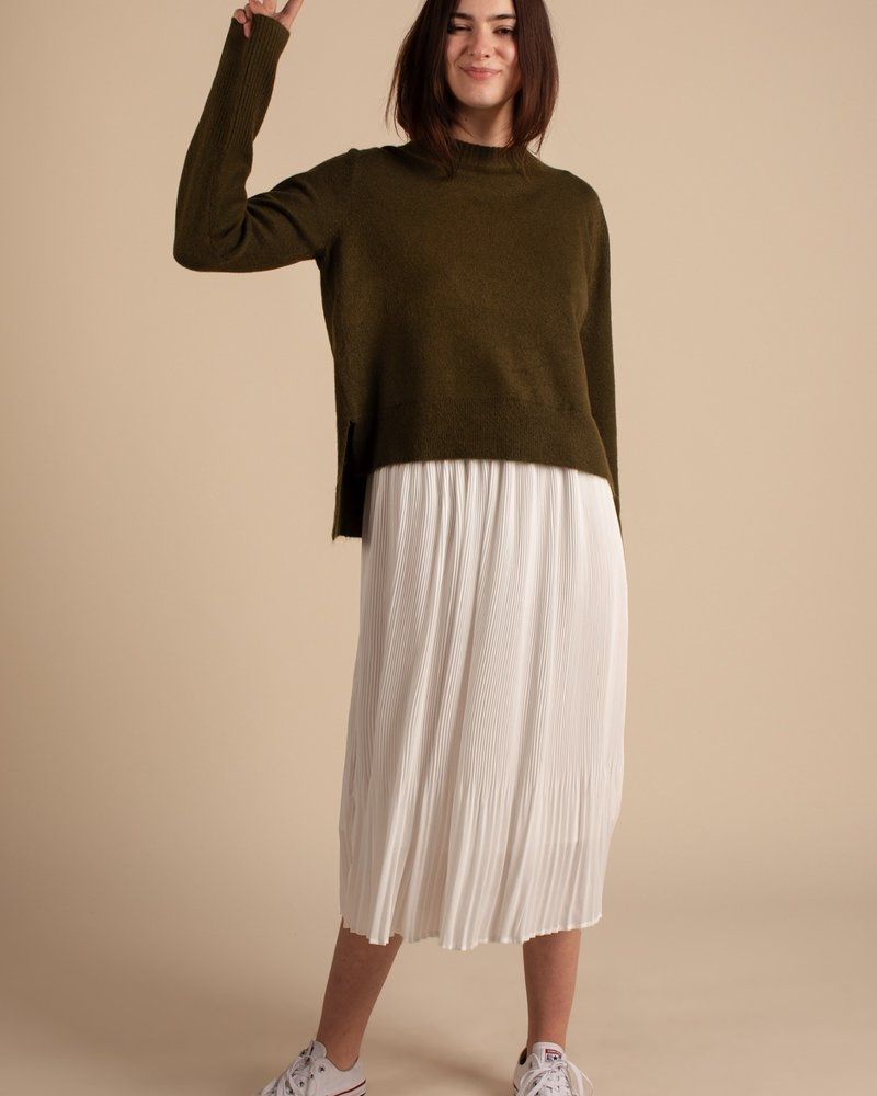 The Grace Sweater | Olive