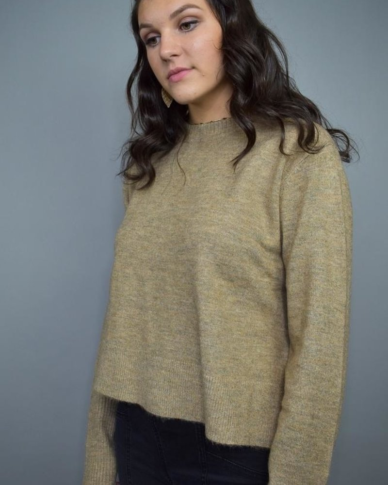 The Grace Sweater   Mocha