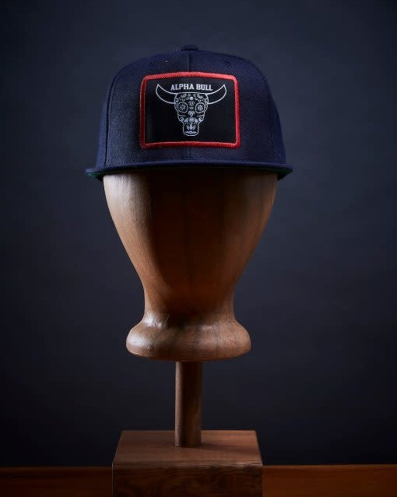 Alpha Bull | Navy/Red