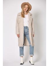 Lapel Teddy Bear Coat