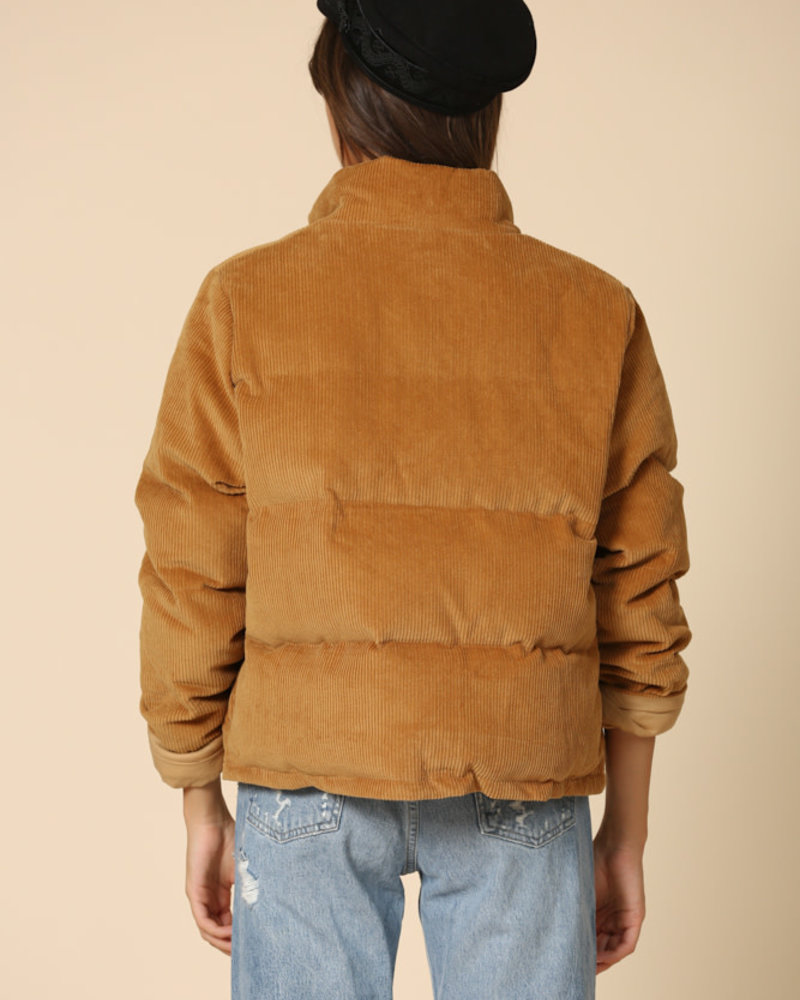 Camel Corduroy Jacket
