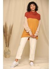 Colorblock Color Sweater