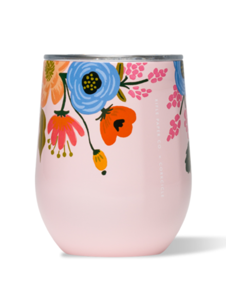 Rifle Paper Co. Stemless Gloss | Blush Lively Floral
