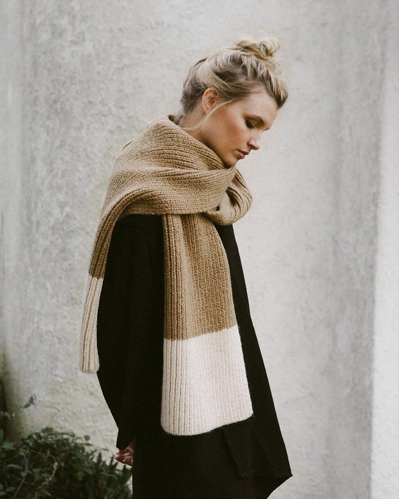 Cozy Up Scarf | Oatmeal