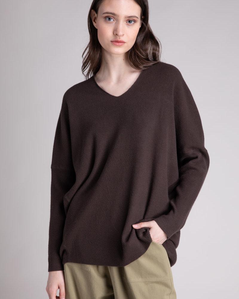 Coal V-Neck Sweater