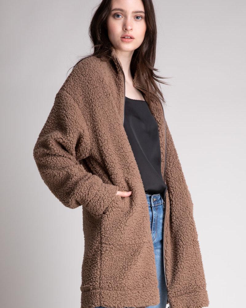 Oversized Sherpa Jacket
