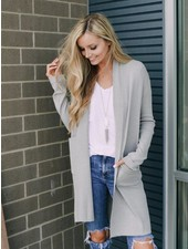 The Jack Cardigan | Grey