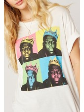 Biggie Pop Color King Boyfriend Tee