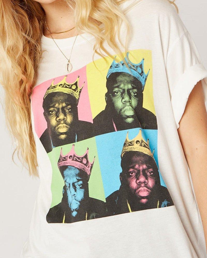 Biggie Pop Color King Boyfriend Tee