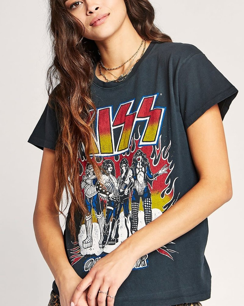 Kiss Heavens On Fire Tour Tee