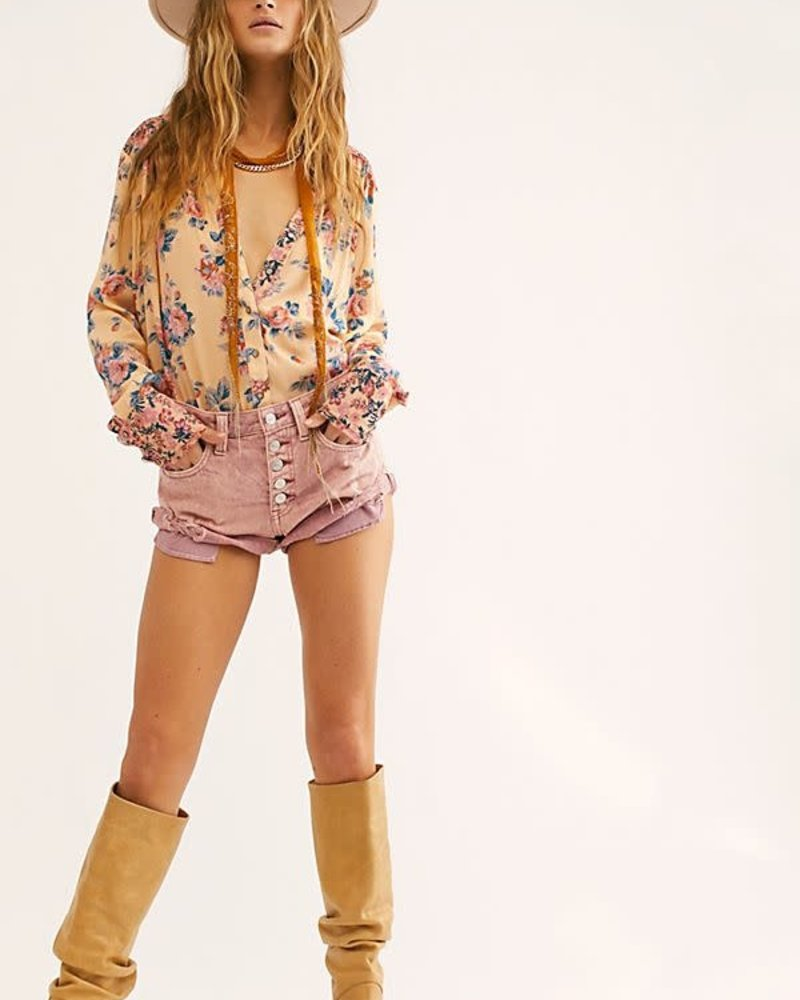 Hold On To Me Printed Top