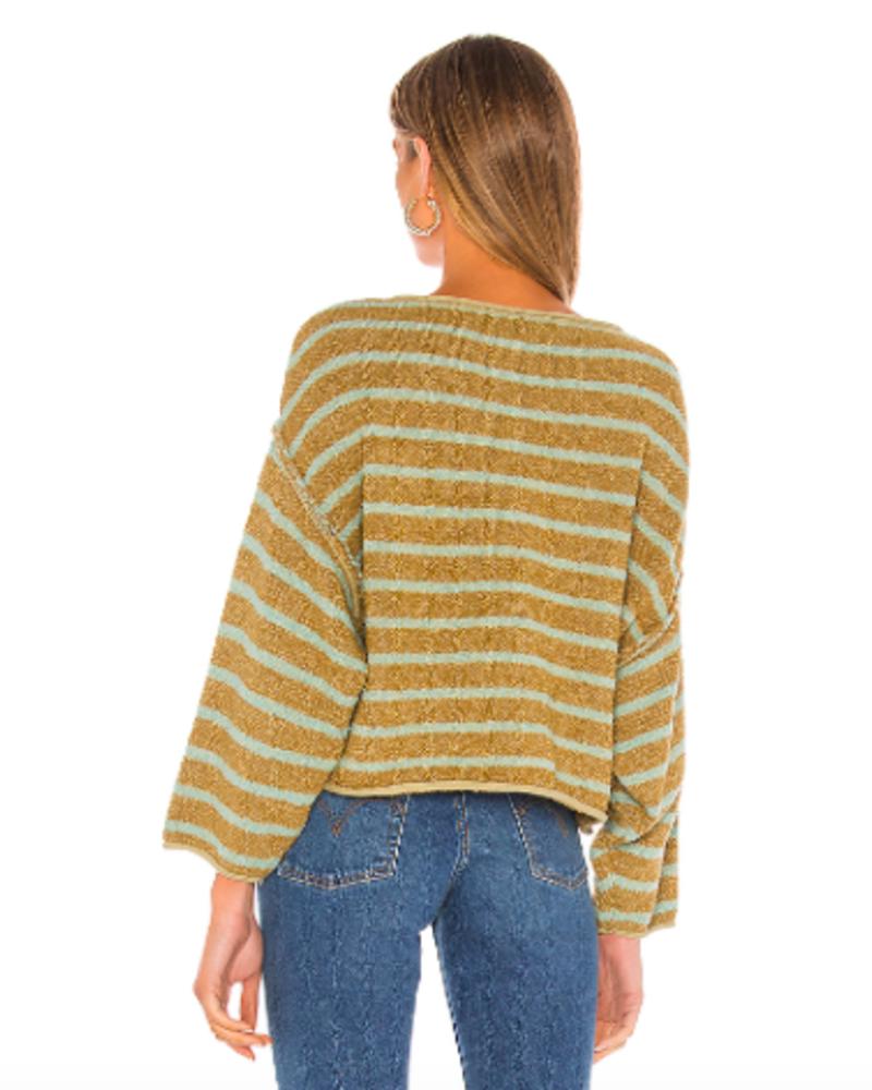 Bardot Sweater | Green