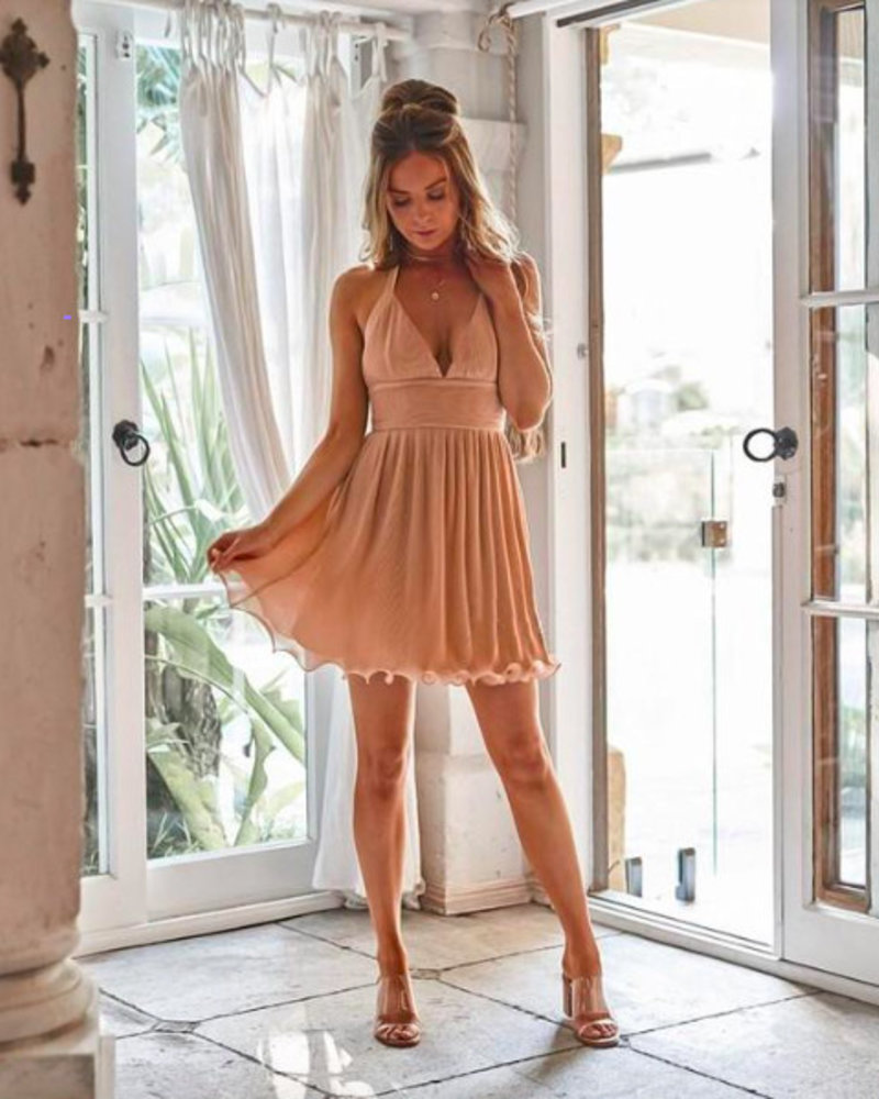 Mulberry Dress | Peach