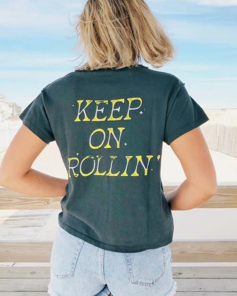 Keep On Rollin' Reverse Girlfriend Tee