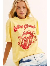 Rolling Stones Star Tongue Graphic