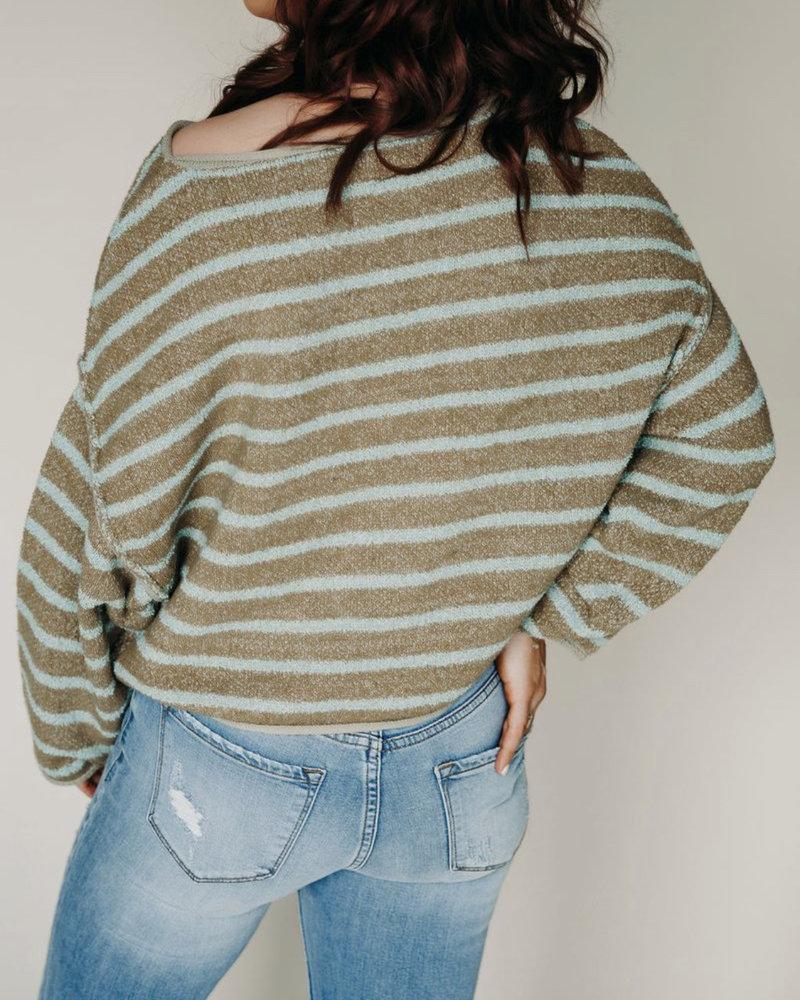 Bardot Sweater   Green