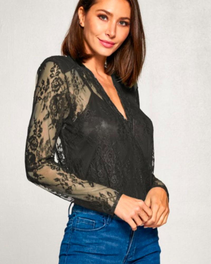 Carmen Lace Bodysuit