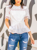 Rose Blouse | White