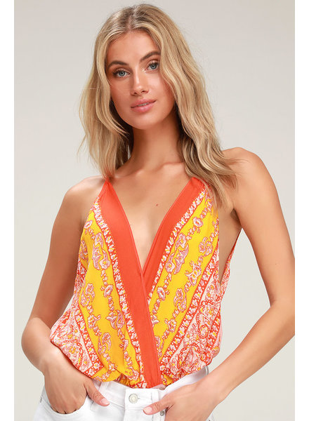 Free People Boarder Babe Bodysuit