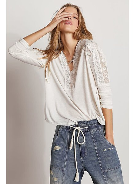 Free People Tammy Blouse | Off White
