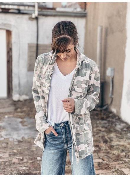 Watercress Camo Jacket