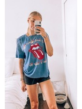 Rolling Stones I Like It Boyfriend Tee