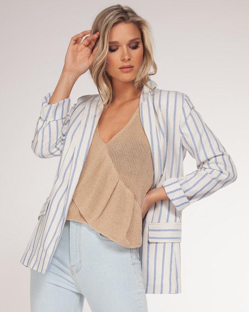 Blue Stripe Blazer